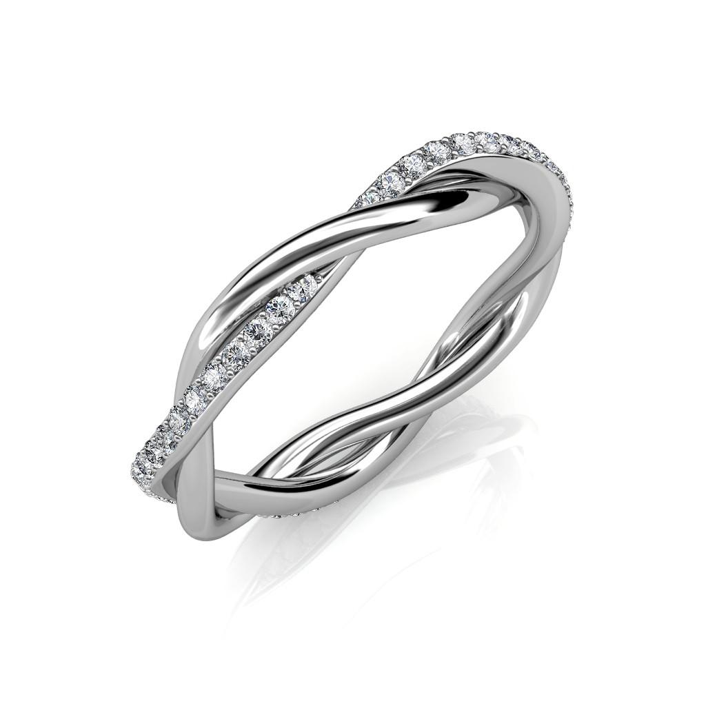 The Ameya Twist Ring