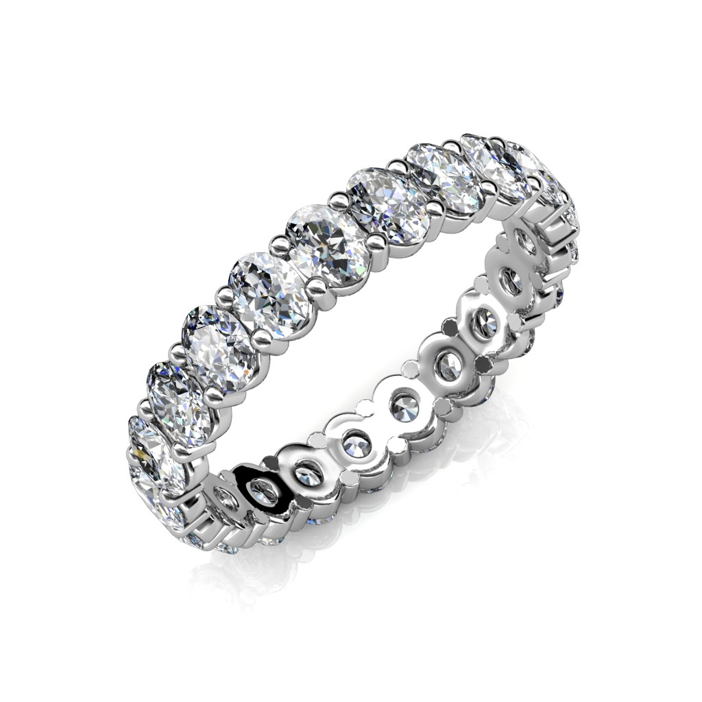 The Oval Diamond Eternity Ring