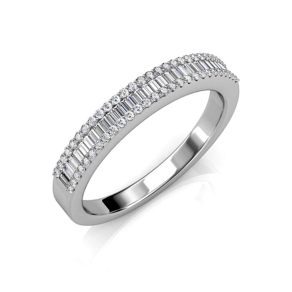 The Kyra Half-Eternity Ring