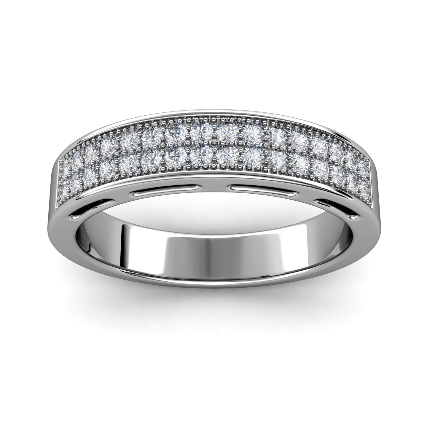 The Melissa Double Row Ring