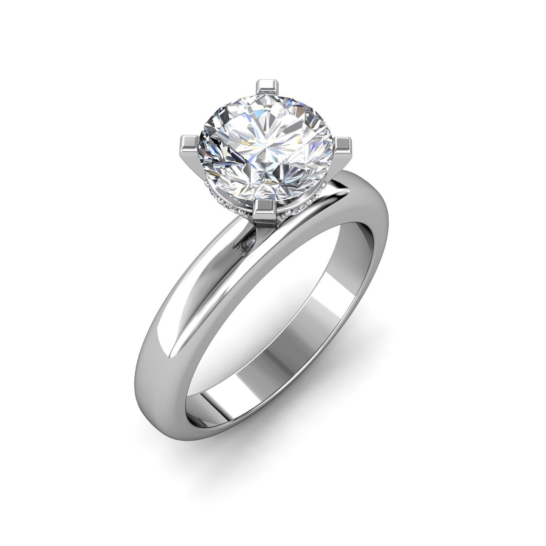 1.04 carat White Gold - Danica Engagement Ring