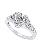 0.95 carat Platinum - Jeslyn Engagement Ring