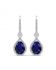 The Azure Dangler Earrings