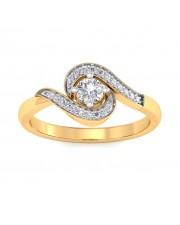 0.62 carat Yellow Gold - Amadora Engagement Ring