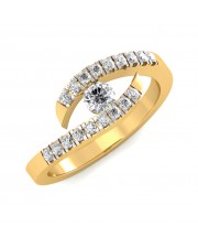 The Lacy Diamond Ring