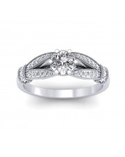 0.71 carat White Gold - Nelly Engagement Ring