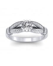 1.21 carat Platinum - Nelly Engagement Ring