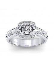 1.30 carat Platinum - Amanda Engagement Ring