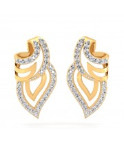 The Rio Leaf Earrings