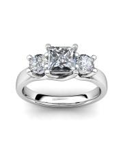 0.76 carat 18K Gold -Anna Engagement Ring
