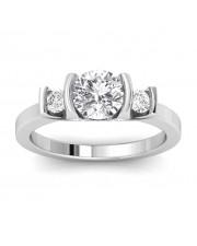 1.23 carat 18K Gold - Nitza Engagement Ring