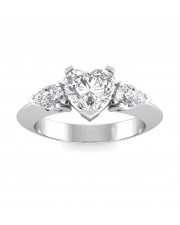 1.10 carat Platinum - Anastasia Engagement Ring