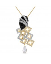 The Elegant Onyx Pendant