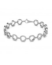 The Promise Of Love Diamond Bracelet - Platinum
