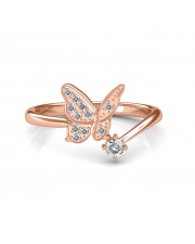 The Eva Butterfly Ring