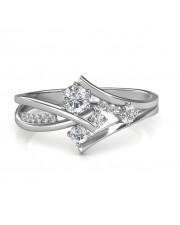 0.51 carat 18K Gold - Elisa Engagement Ring