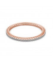 The Teena Heart Single Line Bangle