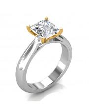 1.00 carat 18K Gold - Serenity Engagement Ring