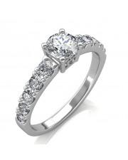 1.90 carat 18K Gold - True Love Engagement Ring