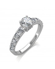 0.90 carat Platinum - True Love Engagement Ring