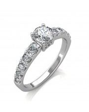 1.30 carat 18K Gold - True Love Engagement Ring