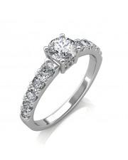 1.30 carat Platinum - True Love Engagement Ring