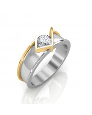 The Victory Solitaire Ring