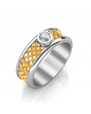 The Magnus Solitaire Ring