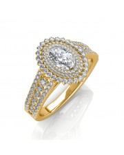 The Bella Oval Ring
