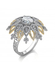 The Majestic Floret Ring