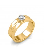 The Prius Solitaire Ring For Him