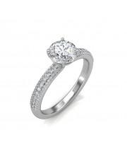 0.74 carat 18K Gold - Forever Love Engagement Ring
