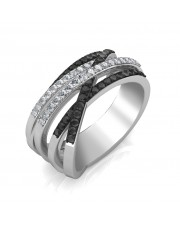 The Loren Black Diamond Ring