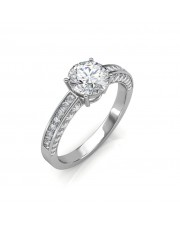 0.77 carat 18K Gold - Zest Love Engagement Ring