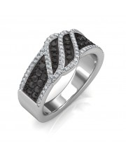 The Imperia Black Diamond Ring