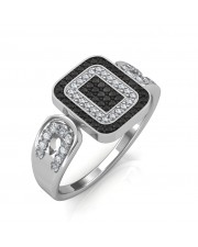 The Sophia Black Diamond Ring