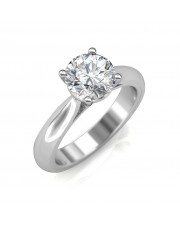 0.70 carat 18K Gold - Classic Engagement Ring