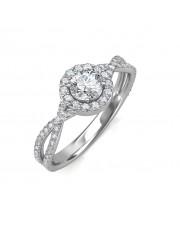 0.64 carat 18K Gold - Zara Engagement Ring