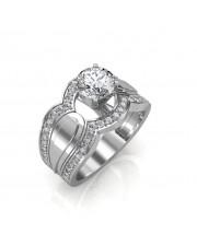 1.05 carat 18K Gold - Utopia Engagement Ring