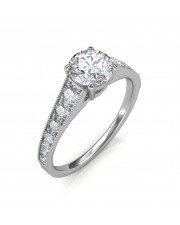 1.13 carat Platinum - Victoria Engagement Ring