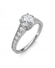 1.53 carat Platinum - Victoria Engagement Ring