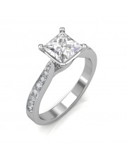 1.14 carat Platinum - Ayesha Engagement Ring