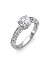 1.22 carat Platinum - Zest Love Engagement Ring