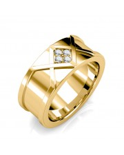 The Ross Diamond Ring For Him