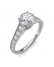 1.53 carat 18K Gold - Victoria Engagement Ring
