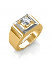 The Arthur Solitaire Ring For Him
