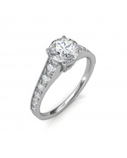 0.93 carat 18K Gold - Victoria Engagement Ring