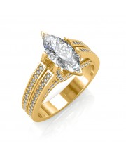 The Extraordinaire Marquise Ring