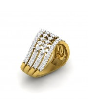 The Swirl Cocktail Ring