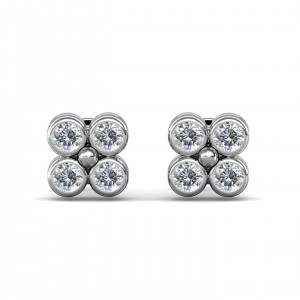 The 4-Square Earrings